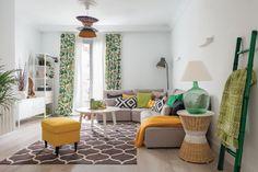 Marzua: Moderno, fresco y muy alegre: un hogar para una fa...