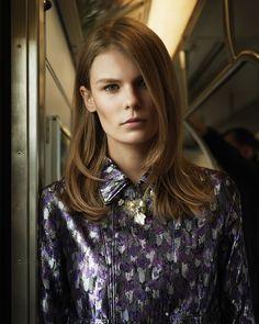 visual optimism; fashion editorials, shows, campaigns & more!: follow suit: alexandra elizabeth ljadov by ward ivan rafik for wsj june 2015
