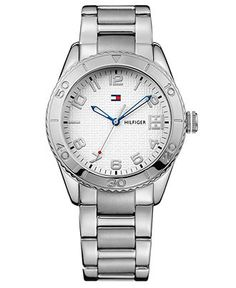 Tommy Hilfiger Watch, Women's Stainless Steel Bracelet 1781145 - Women's Watches - Jewelry & Watches - Macy's