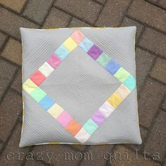 Really cute diamond pillow cover