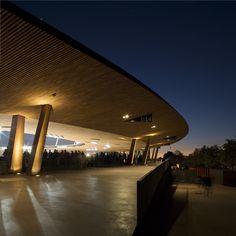 Zurich Stadion Letzigrund Airports, Event Venues, Dom, Bowling, Modern Architecture, Signage, Facade, Industrial, World