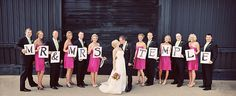 Kacy, We could use the chalk boards from the wedding.