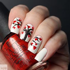 Your nails may not be as big as a paper but you can definitely paint a picture on your nails. Bring them all closer and it would look like one big picture.