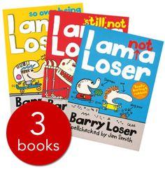 Barry Loser Set - 3 Books - Paperback - 9780603569234 - Jim Smith £5