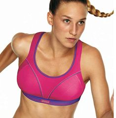 5af3c0f2bb6ca Ultimate Run bra by Shock Absorber. Designed for runners in mind. Get the  Shock Absorber Ultimate Run Sports Bra Pink by Shock Absorber in Pink now  from ...