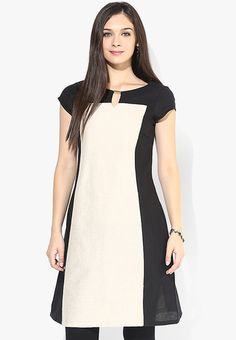 043b1e413 Buy W Black Printed Cotton Blend Kurta Online - 3220008 - Jabong