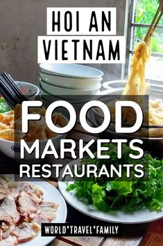 What to eat in Hoi An and where. The best food in Hoi An, best restaurants, street food and where to find it. Local Vietnamese Hoi An Specialities Vietnamese Recipes, Vietnamese Food, Western Food, Food Stall, Hoi An, Best Dining, Food Inspiration, Travel Inspiration, Foodie Travel
