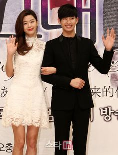 "Jeon Ji Hyun, Kim Soo Hyun, & Other Cast Members Pimp ""You Came From The Stars"" At Press Conference 