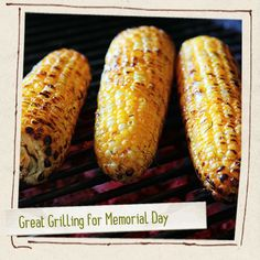 Great Grilling for Memorial Day