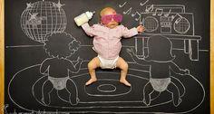 Des parents redessinent le sommeil de leur bébé endormi en d'extraordinaires aventures