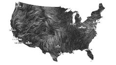Wind Map.  You can actually see wind patterns across the continental United States in recent-time updates on the site mentioned in the article.