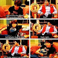 Drake and Josh. Miss this show.):