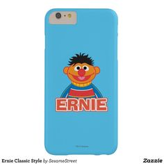 Ernie Classic Style Barely There iPhone 6 Plus Case