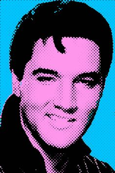 any Elvis fans? this Saturday, Cincinnati Arts Association presents Elvis Lives, a tribute to the King of Rock n Roll. Roy Lichtenstein, Elvis Presley, Musik Illustration, Graffiti, Andy Warhol Art, Rockabilly Music, Cincinnati Art, Portrait Cartoon, Pop Art Movement