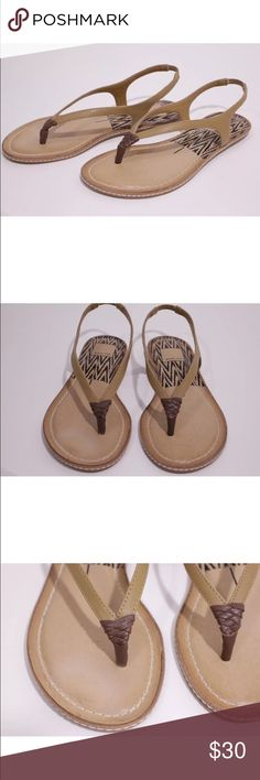 Dolce vita Carmel sling back sandals new! New in box, leather Dolce Vita Shoes Sandals