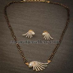Jewellery Designs: Fancy Simple Mangalsutra