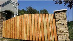 vörösfenyő deszkakerítés Fences, Wood, Lawn And Garden, Picket Fences, Woodwind Instrument, Trees, Home Decor Trees, Woods