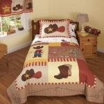 Little Cowboy Boys Bedding Twin Quilt Set - Kids Western Sheriff Bedspread Brown Bedroom Themes, Kids Bedroom, Bedroom Decor, Bedroom Ideas, Kids Rooms, Nursery Ideas, Bedroom Makeovers, Baby Bedroom, Bedroom Inspiration