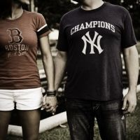 Pretty sure one of the baseball commandments is thou shalt not date a NYY fan.