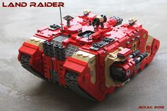 Back of the Land Raider (not mine, wish it was) #40k #SpaceMarines #lego