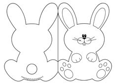 DIY Easter activities & decoration – Rebel Without Applause Easter Art, Easter Crafts For Kids, Easter Bunny, Easter Templates, Card Templates, Bunny Party, Diy Ostern, Easter Activities, Spring Crafts