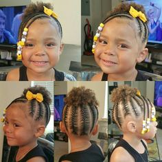 kid braid styles Want to know more, Lemoda Hair Little Girls Natural Hairstyles, Little Girl Braid Hairstyles, Toddler Braided Hairstyles, Toddler Braids, Natural Hairstyles For Kids, Braids For Kids, Natural Hair Styles, Black Hairstyles, Easy Hairstyles