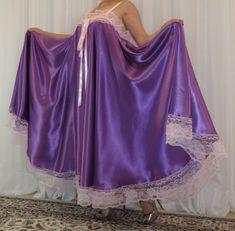 Satin Dresses, Prom Dresses, Formal Dresses, Vintage Lingerie, Women Lingerie, Plus Size Vintage, Plus Size Lingerie, Night Gown, Ball Gowns