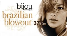 Brazilian blowout professional smoothing treatment is pretty effective in today's world. It's a luxurious treatment has earned a well-deserved reputation for producing greater shine, smoothness and manageability. So ladies, hurry up & grasp the deal only for SR 375! Good hair is a confidence tool!