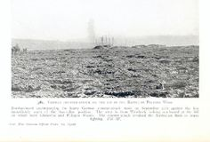 'Flanders Fields' looking towards the area once known as Polygon Wood - just prior to the battle.