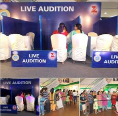 Zee Bangla Reality Show - Happy Parents Day's Audition @ DP Mall Kolkata.