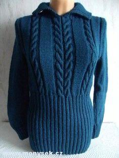pletený svetr Sweaters, Fashion, Knitting Sweaters, Moda, Fashion Styles, Sweater, Fashion Illustrations, Sweatshirts, Pullover Sweaters