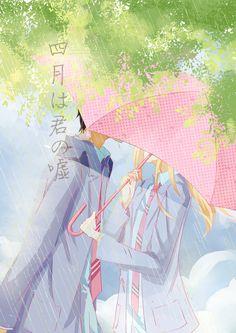 Shigatsu wa kimi no uso - Kōsei Arima and Kaori Miyazono