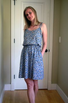 Amy's Sewaholic Saltspring Dress in Liberty