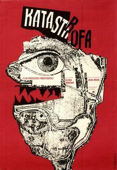 Catasrtrophe Katastrofa Cieslewicz Roman Polish Poster