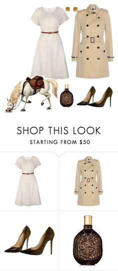 """""""Maximus"""" by kimmmeo ❤ liked on Polyvore featuring Uttam Boutique, Disney, Burberry, Jimmy Choo and Humble Chic"""