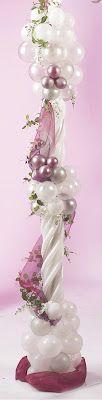 The Very Best Balloon Blog: Elegant Wedding Arbour - Sue Bowler CBA