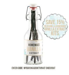 Beanilla Homemade Vanilla Extract Infusion Kits - Save 15%