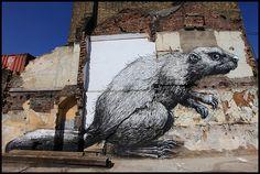 roa mouse, London