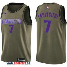 Men s Nike Sacramento Kings Mike Bibby Green Salute to Service NBA Swingman  Jersey a4bb7f08f