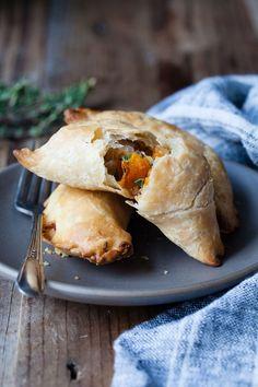 Kabocha Empanadas with Gruyere & Thyme {Gluten-free using Pamela's all-purpose flour} - Snixy Kitchen