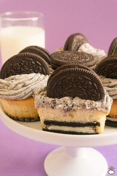 Cookies and Cream Cupcakes are a sweet treat the whole family will love.