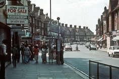 Golders Green Road - London in the Vintage London, Old London, West London, North London, London Life, London Street, Hampstead Village, Hampstead Heath, London History