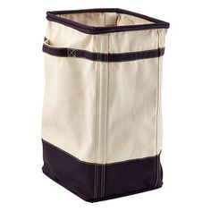 2-Section Butterfly Hamper | The Container Store