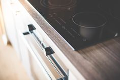 Free Image: Modern Home Kitchen Glass Ceramic Cooker Close Up | Download more on picjumbo.com!
