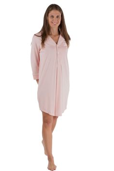 Texere Women's Bamboo Sleep Shirt (Harmony) Luxury Sleepwear * Discover this special product, click the image : Plus size tops