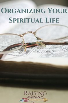 Is your spiritual life lacking because you lack consistency and focus? It's time to organize your spiritual life and get back on track! Worship The Lord, Back On Track, Spiritual Life, Christian Women, Eyeglasses, The Balm, About Me Blog, Spirituality, Organization