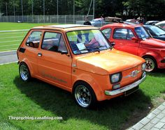 Fiat 126 #fiat Fiat 126, Tube Chassis, Fiat Abarth, Steyr, Nice Cars, Italian Style, Custom Cars, Cars And Motorcycles, Classic Cars
