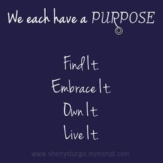 What is your purpose? ♥ #MONAT