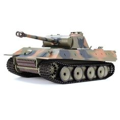 RC Battle Tank Heng Long 1/16 German Panther Snow Leopard 2.4G 3819-1 German Panther