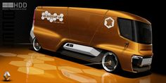 Renault Trucks Beezy by Rudy Bottin, via Behance